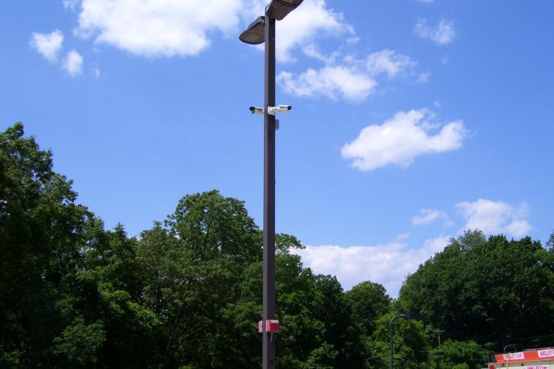 Streetlight CCTV
