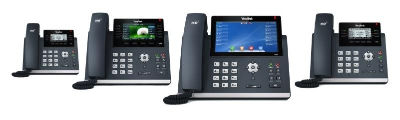 Four Avaya Desk Phones